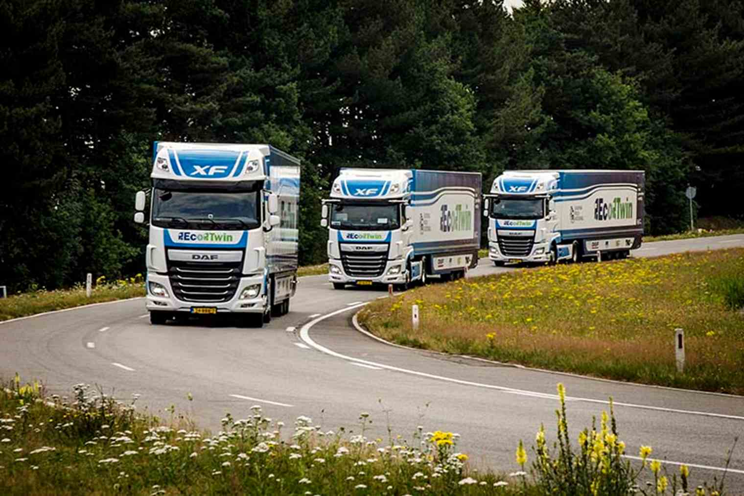 Europe Is The World Leader When It Comes To Truck Platooning In April 2016 Tno And Rijkswaterstaat