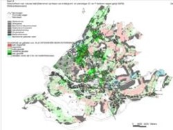 Example of a suitability map for business parks in South Holland