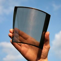 PV window or solar window, flexible and translucent perovskite module