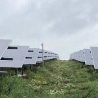 Solar farm with focus on spatial quality, biodiversity and multiple land use