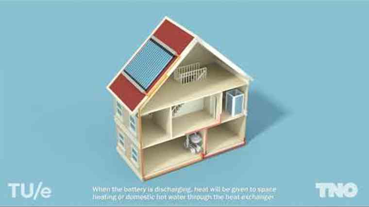 Heat battery for the home | TNO